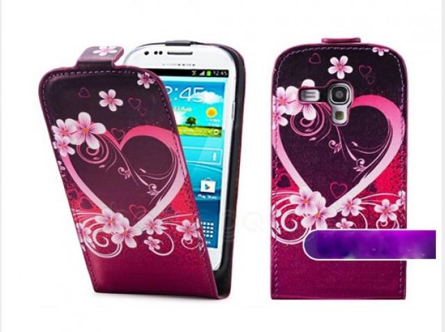 Pouzdro Sligo Heart pro Samsung G350/G3500 Galaxy Core Plus