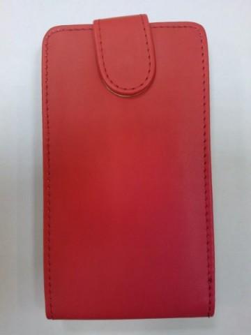 Pouzdro Sligo Classic pro Samsung S7580/S7582 Galaxy Trend Plus a S Duos 2 Red