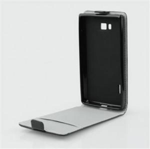 Puzdro ForCell Slim Flip Flexi Huawei P8 Lite čierne