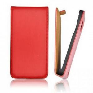 Pouzdro ForCell Slim flip Samsung G900 Galaxy S5 červené