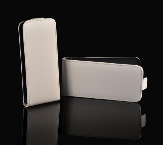 Pouzdro ForCell NEO Flip Iphone 5C White
