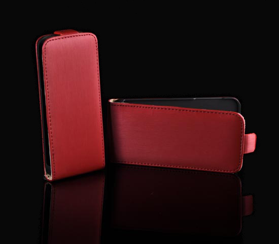 Pouzdro ForCell Slim Flip Samsung i9295 Galaxy S4 Active Červené