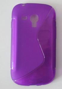 Silikonové pouzdro S-Line Case pro Samsung Galaxy Alpha (G850) fialové