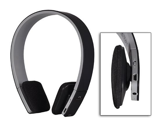 AEC BQ-618 bluetooth sluchátka černé