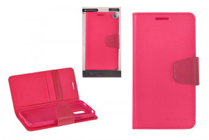 Pouzdro Sonata Goospery Leather Flip Sony Xperia Z2 Ružové