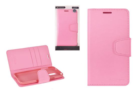 Pouzdro Sonata Goospery Leather Flip Samsung I9300/i9301 Galaxy S3 Světle Růžové