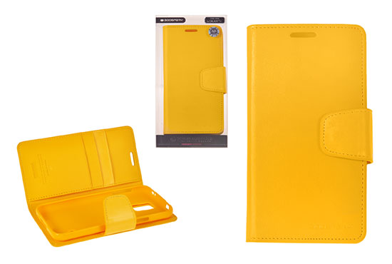 Pouzdro Sonata  Goospery Leather Flip Samsung I9300/i9301 Galaxy S3 Světle Žluté