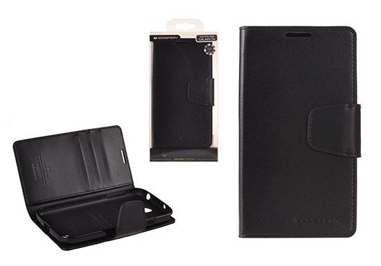 Pouzdro Sonata Goospery Leather Flip Samsung I9505 Galaxy S4 Černá