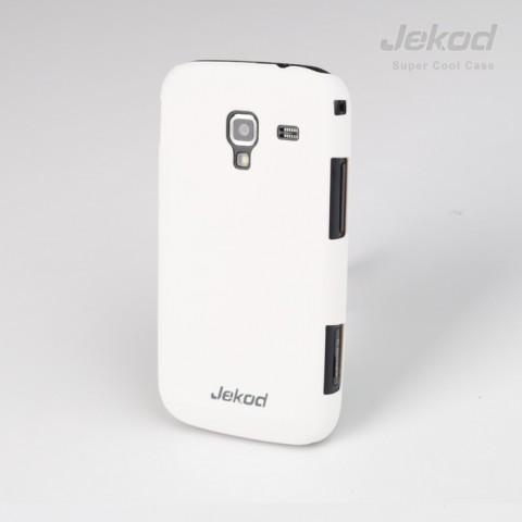 JEKOD Super Cool Pouzdro White pro Samsung i8160 Ace2