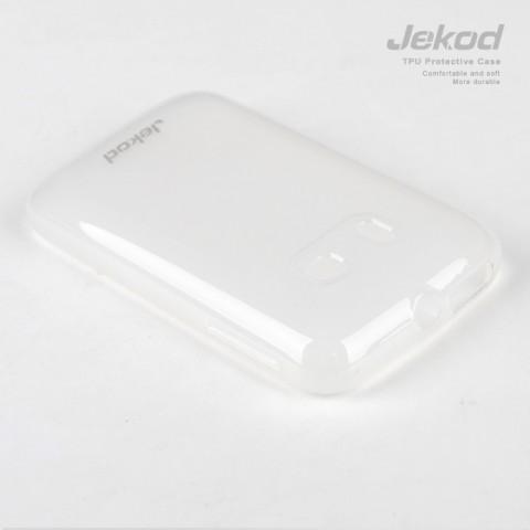 JEKOD TPU Ochranné Pouzdro White pro LG P710 Optimus L7 II