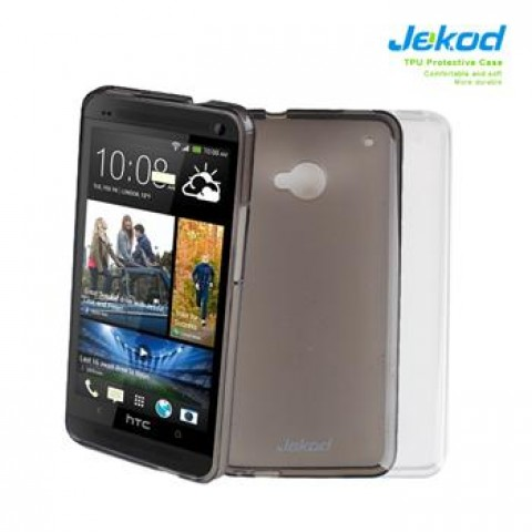JEKOD TPU Ochranné Pouzdro White pro HTC ONE mini