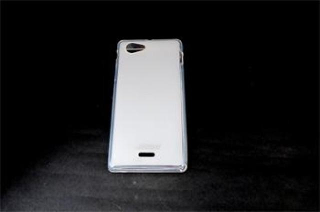 JEKOD TPU Ochranné Pouzdro White pro Sony Xperia J ST26i