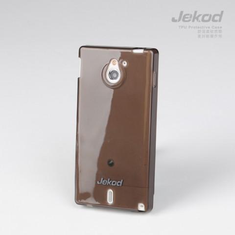 JEKOD TPU Ochranné Pouzdro Black pro Sony Xperia Sola MT27i