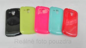 Candy Case Ultra Slim Samsung Galaxy Trend S duos S7560 S7562 Červené