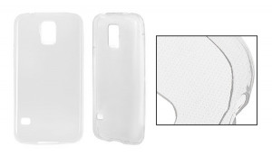 Back Case Ultra Slim Samsung G900 Galaxy S5 Čirá