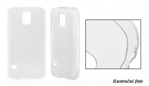 Pouzdro Back Case Ultra Slim 0,3mm - Samsung Galaxy A3 2017 A320 Čiré