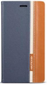 Pouzdro Wallet Mute Nokia Lumia 630 635 Šedé