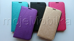 Pouzdro Wallet Velvet Sony Xperia E4 E2105 Modré