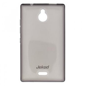 JEKOD TPU Ochranné Puzdro Black pre Nokia X2