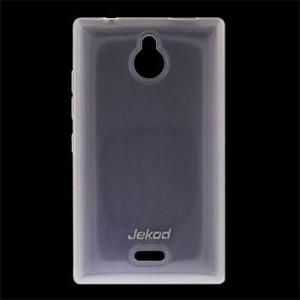 JEKOD TPU Ochranné Puzdro White pre Nokia X2