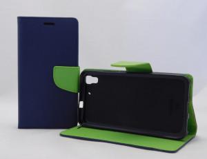 Pouzdro TEL1 Fancy Diary Huawei Ascend Y6 Modré