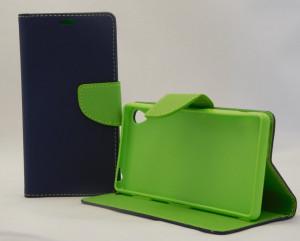 Pouzdro TEL1 Fancy Diary Sony Xperia Z3 D6603 Modré