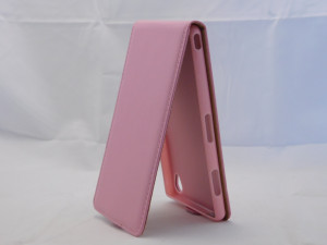 Pouzdro ForCell Slim Flip 2 Flexi Sony Xperia Z3 D6603 růžové