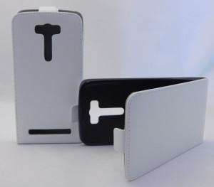 Pouzdro ForCell Slim 2 Flexi Asus ZenFone 2 Laser ZE500KL Bílé