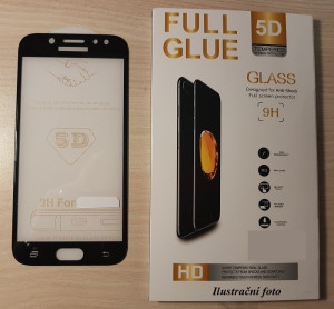 Full Glue 5D tvrdené sklo iPhone 8 Black 21034