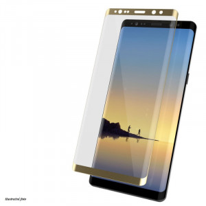 Glass full 2,5D OnePlus 5T Zlaté 21155