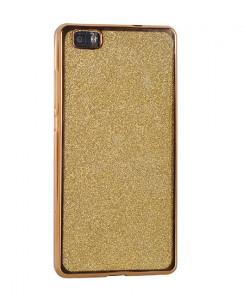 Pouzdro Glitter Case Elektro Xiaomi Redmi Note 5 Zlaté