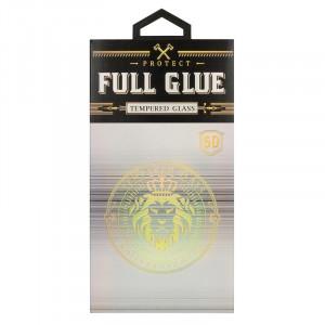 Hard Full Glue 5D tvrzené sklo iPhone 12 Mini Černé 27398