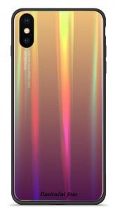 Pouzdro Rainbow Glass Samsung Galaxy A40 A405 Fialové