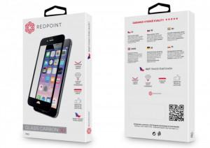 RedPoint ochrana displeje Carbon Glass 3D pro Xiaomi Mi5c, černá CRG0013