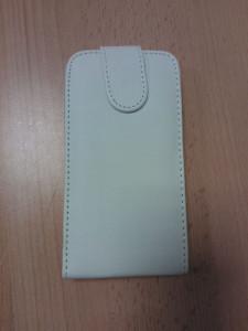 Pouzdro Sligo Classic pro Nokia 206 Asha White