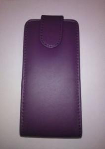 Pouzdro Sligo Classic pro Samsung N9005 Galaxy Note 3 Tmavě fialové