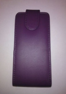 Pouzdro Sligo Classic pro Samsung i9505 Galaxy S4 fialové