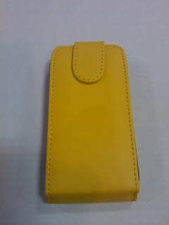 Pouzdro Sligo Classic pro Samsung i9195/i9190 Galaxy S4 mini Yellow