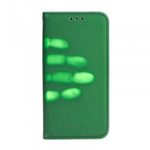 Pouzdro Thermo Book Samsung Galaxy J5 2016 J510 Zelené