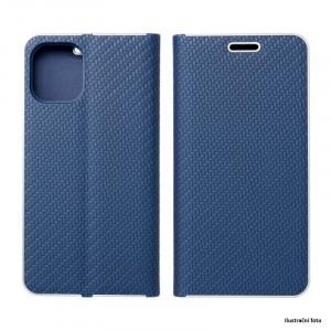 Puzdro Vennus Book Carbon Xiaomi Mi 11 Modré
